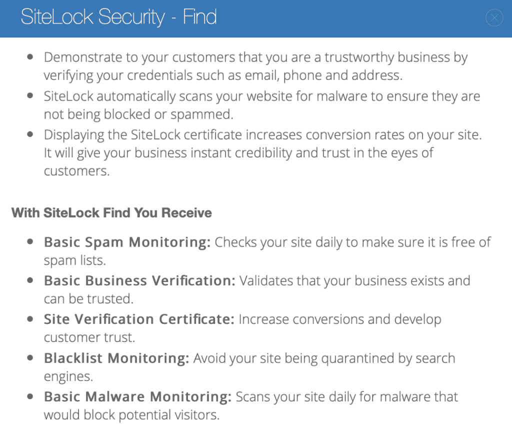 What is SiteLock Security and why do I need it for my blog