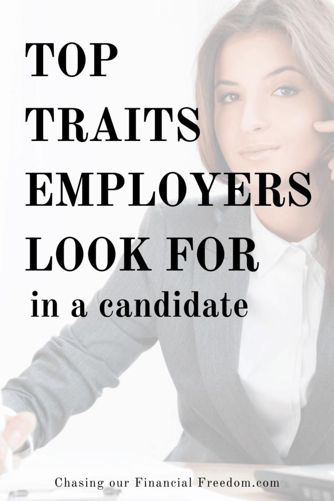 Traits employers look for in candidates