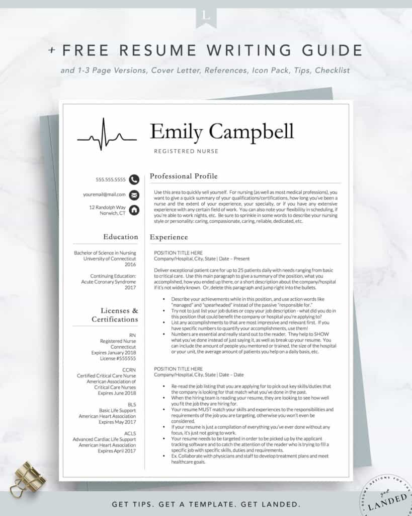 resume examples that will get you hired