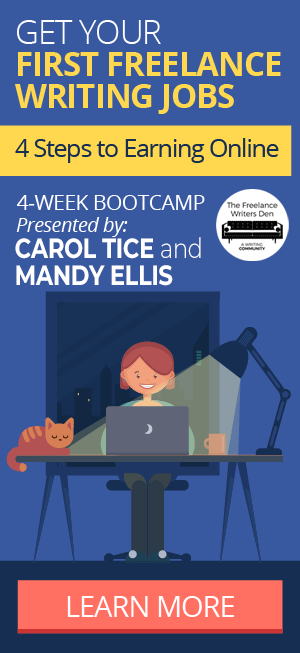 Bootcamp: Get Your First Freelance Writing Jobs: Learn More